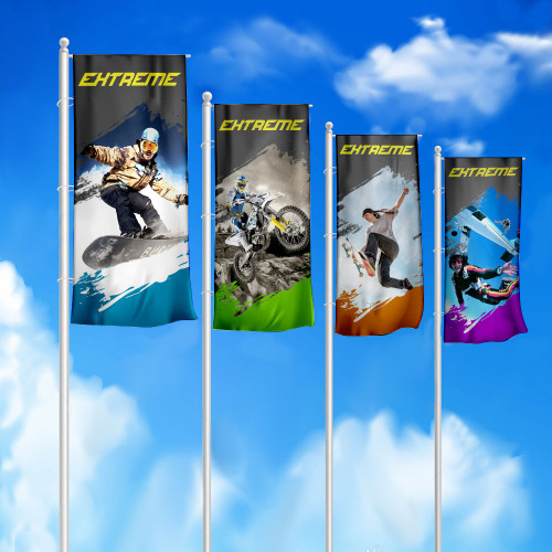 Флаги для уличных флагштоков-мачт