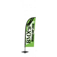 Мобильный флаг Виндер  (240 см)