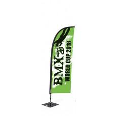 Мобильный флаг Виндер средний 310 см