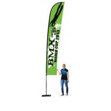 Мобильный флаг Виндер 500 см