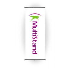 Мобильный стенд L-баннер Standart 60x160 см