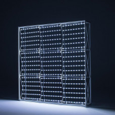 Текстильный поп-ап с внутренней подсветкой
