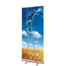 Мобильный стенд ролл-ап Standart 80x180 см