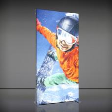 Мобильный лайтбокс 100х200 (250) см
