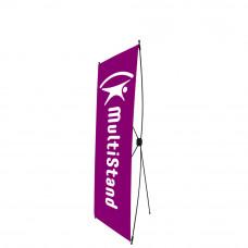 Мобильный стенд X-баннер Econom 60x160 см
