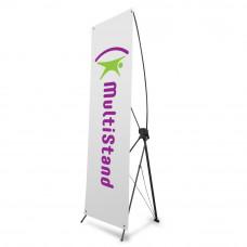 Мобильный стенд X-баннер Premium 80x180 см