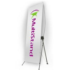 Мобильный стенд X-баннер Premium 120x200 см
